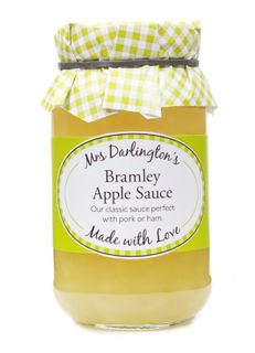 Mrs Darlingtons Bramley Apple Sauce 312g