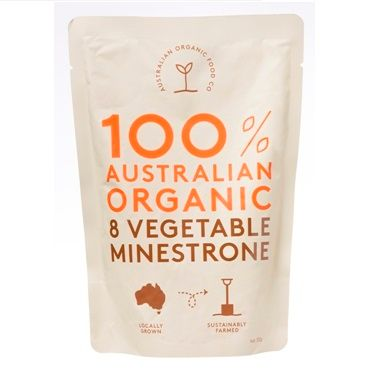AOFC Vegetable Minestrone Soup 330g