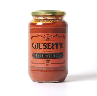Giuseppe Pasta Sauce Tomato & Basil 530g
