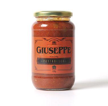 Giuseppe Pasta Sauce Puttanesca 530g