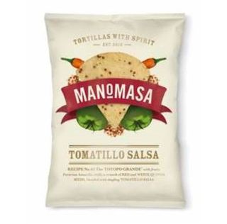 Manomasa Tomatillo Salsa Corn Chip 160g