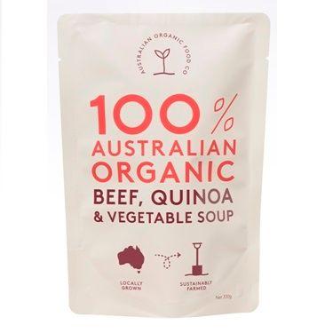 AOFC Beef Quinoa & Veg Soup 330g