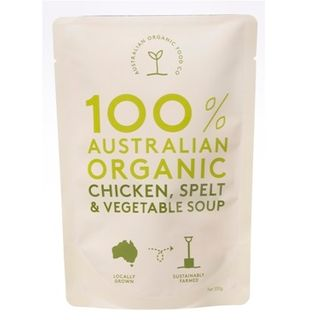 AOFC Chicken Spelt & Vegetable Soup 330g