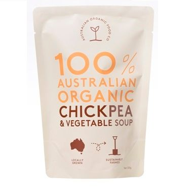 AOFC Chickpea Vegetable Soup 330g
