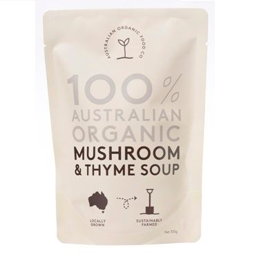 AOFC Mushroom & Thyme Soup 330g