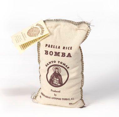 Santo Tomas Bomba Paella Rice 500g
