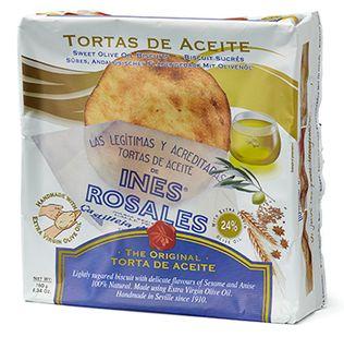 Ines Rosales Original EVOO Tortas 180g