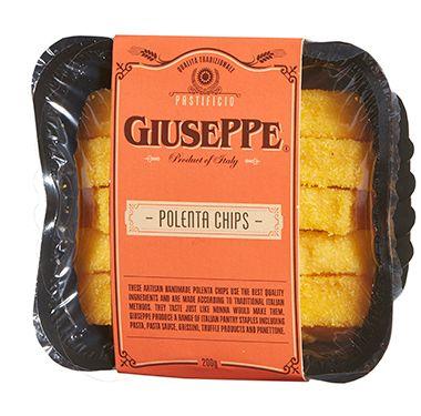 Giuseppe Polenta Chips 200g