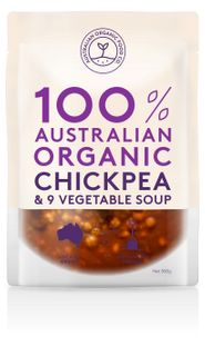 Chilled AOFC Chickpea & Veg Soup 500g