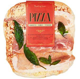 Mio Italia Prosciutto Basil Pizza 550g