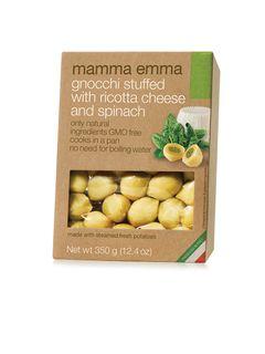 Mamma Emma Gnocchi Ricotta Spinach 350g