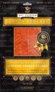 St James Champagne Orange Salmon 100g