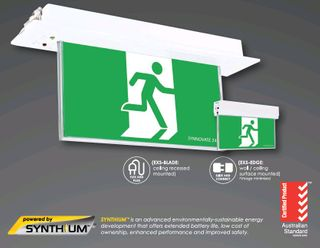 LED Slide & Cont BLADE Exit Synthium