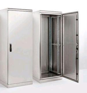 2000 x 800W x 600D S/Steel Idust Cabinet