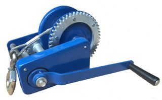Galvanized Hand Winch with 10m Cable
