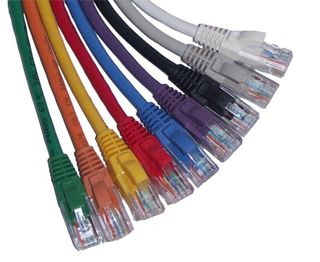 Black 0.25m Cat 6 UTP  Patch Lead