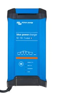 12V 15Amp Blue Smart Charger + Bluetooth