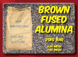 25kg Brown Fused Alumina #24 Mesh