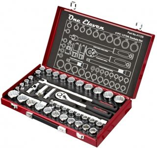 One Eleven 41 Piece 1/2 Drive Socket Set