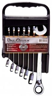 One Eleven 7Pc Gear Wrench Set (A/F)