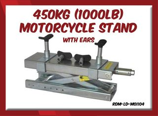 450kg 1000lb Motorcycle Stand- With Ears