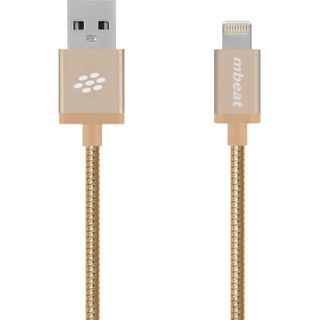 1M GOLD MFI USB to Lightning Data/Syn