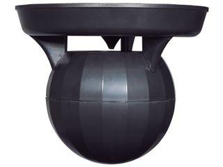 """60w Warehouse Pendant Speaker, 6"""" Black"""