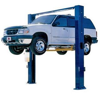 2Post Gantry Hoist 4.2Ton Manual Release