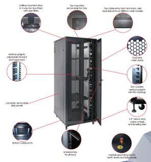 BK 27RU x 800 x 800 SR Server Rack