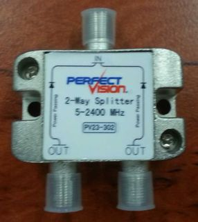 2-Way, 5-2400Mhz Splitter