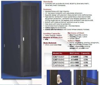 BK 37RUx600Wx800D Fan + Castor