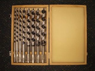 8 Pc  20mm x 235mm Wood Bit Set