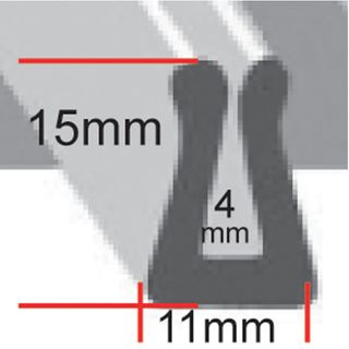 Extruded Rubber Channel