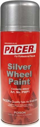 PACER SILVER WHEEL PAINT