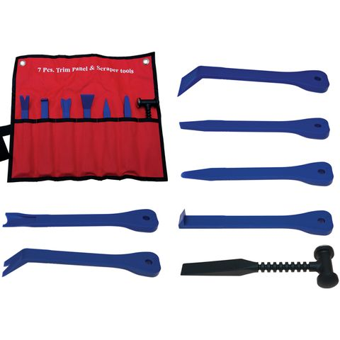 7PC PLASTIC PRY REMOVAL KIT