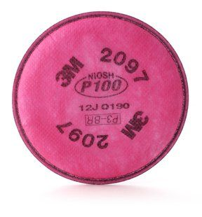 3M 2097 P100 HIGH EFFICIENCY FILTER 2/BAG