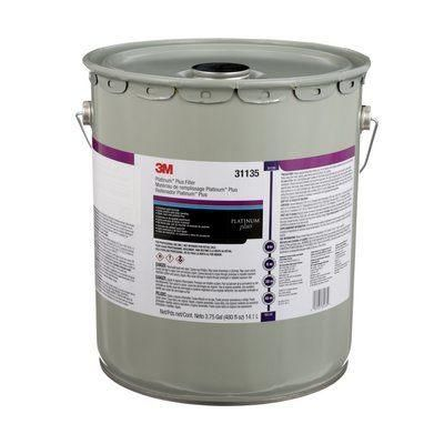 3M 31139 PLATINUM PLUS FILLER WITH HARDENER 18.9L