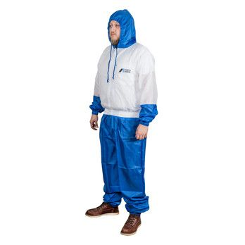 IWATA SPRAYSUIT NYLON 2 PIECE WITH HOOD XXL