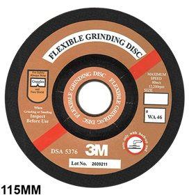 3M G46 WA FLEXIBLE GRINDING DISC 115MM