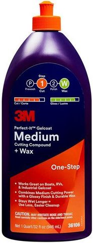 3M PERFECT IT GELCOAT COMPOUND