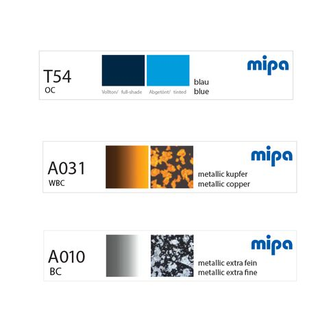 MIPA MAGNETIC LABEL SET