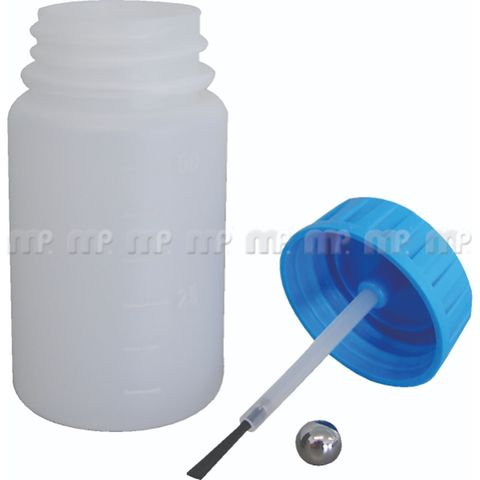 MIXED BASECOAT COLOUR SOLVENT 50ML TOUCH UP BOTTLE