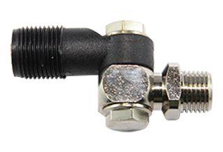 Single swivel nozzle holder