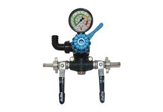 Karin 2 way pressure regulator & gauge