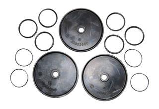 Buna diaphragm kit for Poly 2073