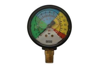 Gauge 0-16 bar (230 psi)