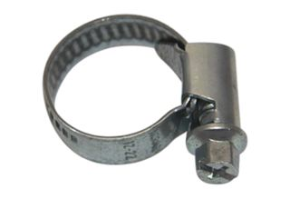Hose clamp | 12-22mm worm drive