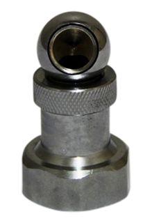 3/8 inch   1/4 inch BSP ball swivel