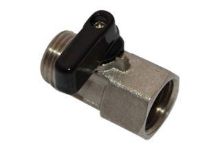 15mm 1/2 miniBall valve M/F
