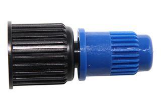 Blue adjustable cone nozzle